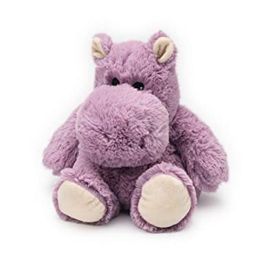 warmies Hippo Junior Cozy Plush Heatable Lavender Scented Stuffed Animal: Toys & Games