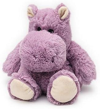 HIPPO JUNIOR WARMIES Cozy Plush Heatable Scented Stuffed Animal (Lavender)