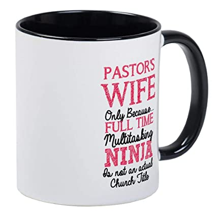 Amazon.com: Pastors Wife For Light Mug - Ceramic 11oz ...