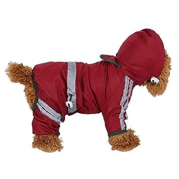 Amazon.com: BOOB - Chubasquero impermeable para perro ...