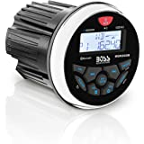 BOSS Audio Systems MGR350B Marine Gauge Receiver - Bluetooth, Digital Media MP3 Player, no CD Player, USB Port, AM FM…