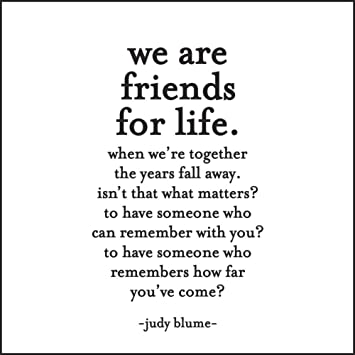 Friends For Life Quotes Amazon.: Quotable Blume: