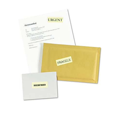 Amazon Avery Neon Laser Labels Rectangle 1 X 2 58