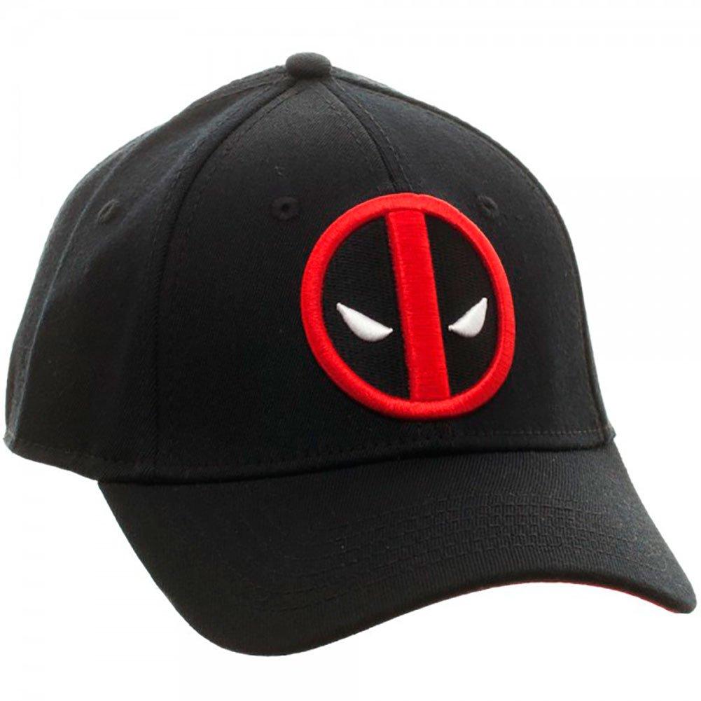 various colors b915d 2e977 Marvel Deadpool Flex Cap Baseball Hat at Amazon Men s Clothing store