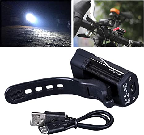 Headlight Front Light Ultra Bright 5 LED Safety Lamp Bicycle Light 3 Mode