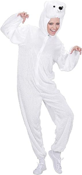 WIDMANN Widman - Disfraz de oso polar para mujer, talla M (9955A ...
