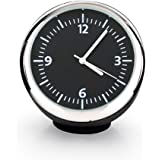 Men Club 車載用時計 水晶時計 クオーツ時計 アナログ表示 小型 車装飾品