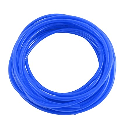 sourcingmap® Compresor De Aire Industrial Pu Flexible Neumático Tubería Tubo Manguera Azul 10.8M Largo