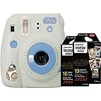 $60 » Fujifilm Instax Mini 9 Star Wars Instant Camera + Bonus Double Pack Instax Film (2 x 10…