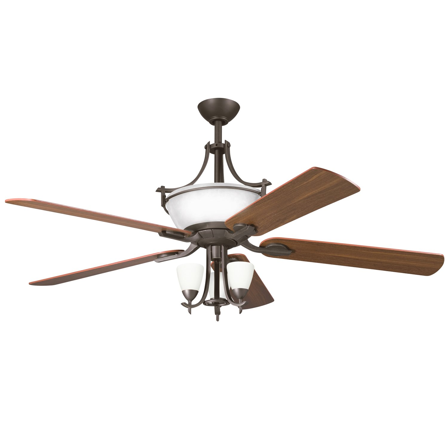 product products hatteras patio inch fan tzp ceilings bay teak ceiling kichler