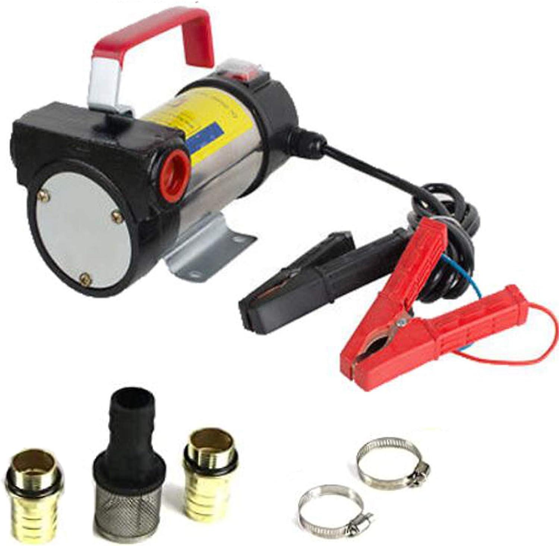 Nua Dua Portable 12V DC Electric Fuel Transfer Pump Diesel Kerosene Oil Commercial Auto/…