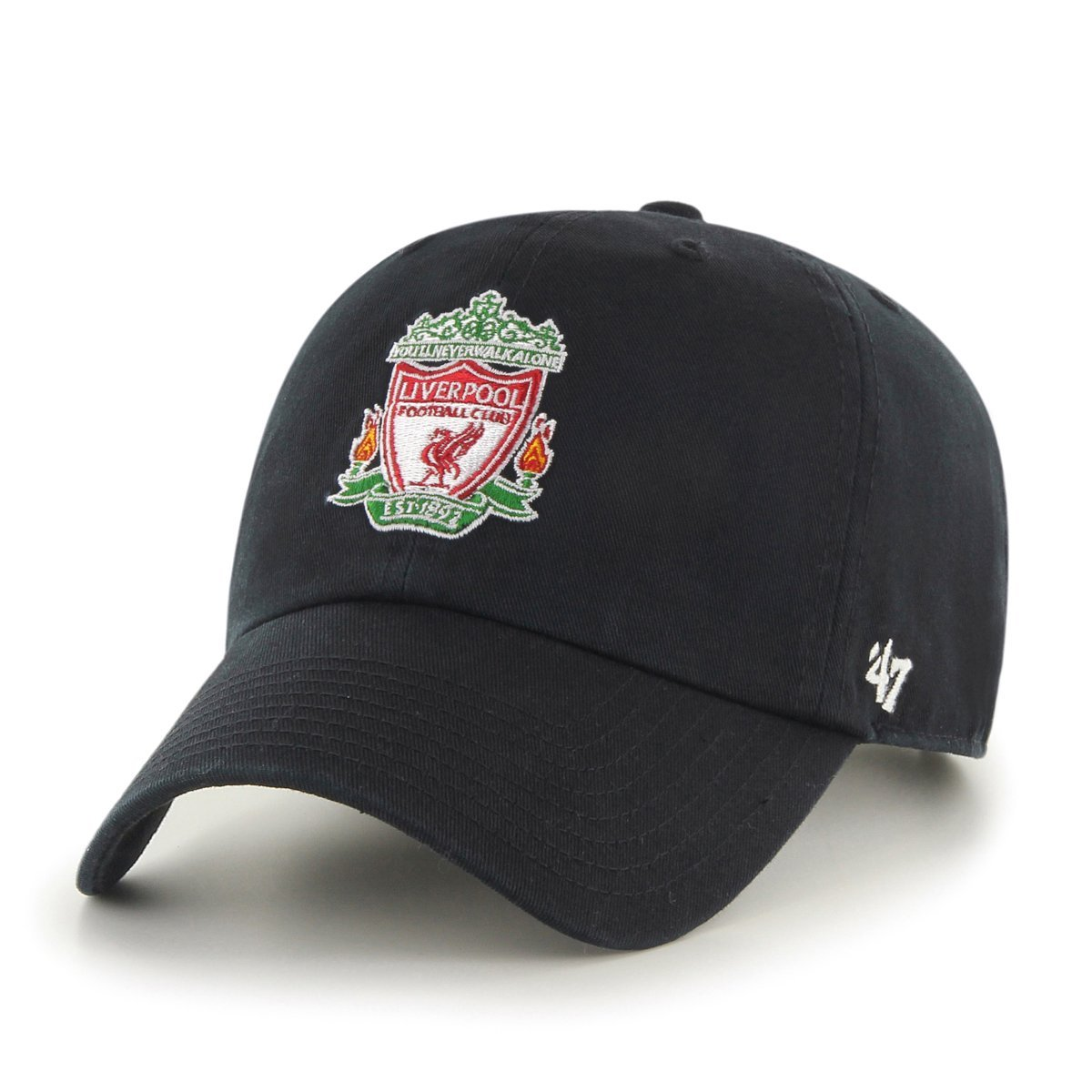 c8bf9aed73707 47 Brand EPL Liverpool FC Clean Up Cap - Black: Amazon.ca: Clothing ...
