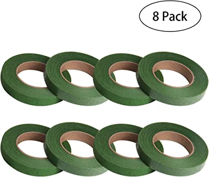 Honbay 4 Rolls 1//2 Wide Dark 30Yard//Roll Green Floral Tapes for Bouquet Stem Wrap Florist Craft Projects