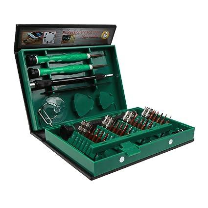 Estuche de destornilladores de precisión magnéticos IDEAPRO, 38 piezas de acero