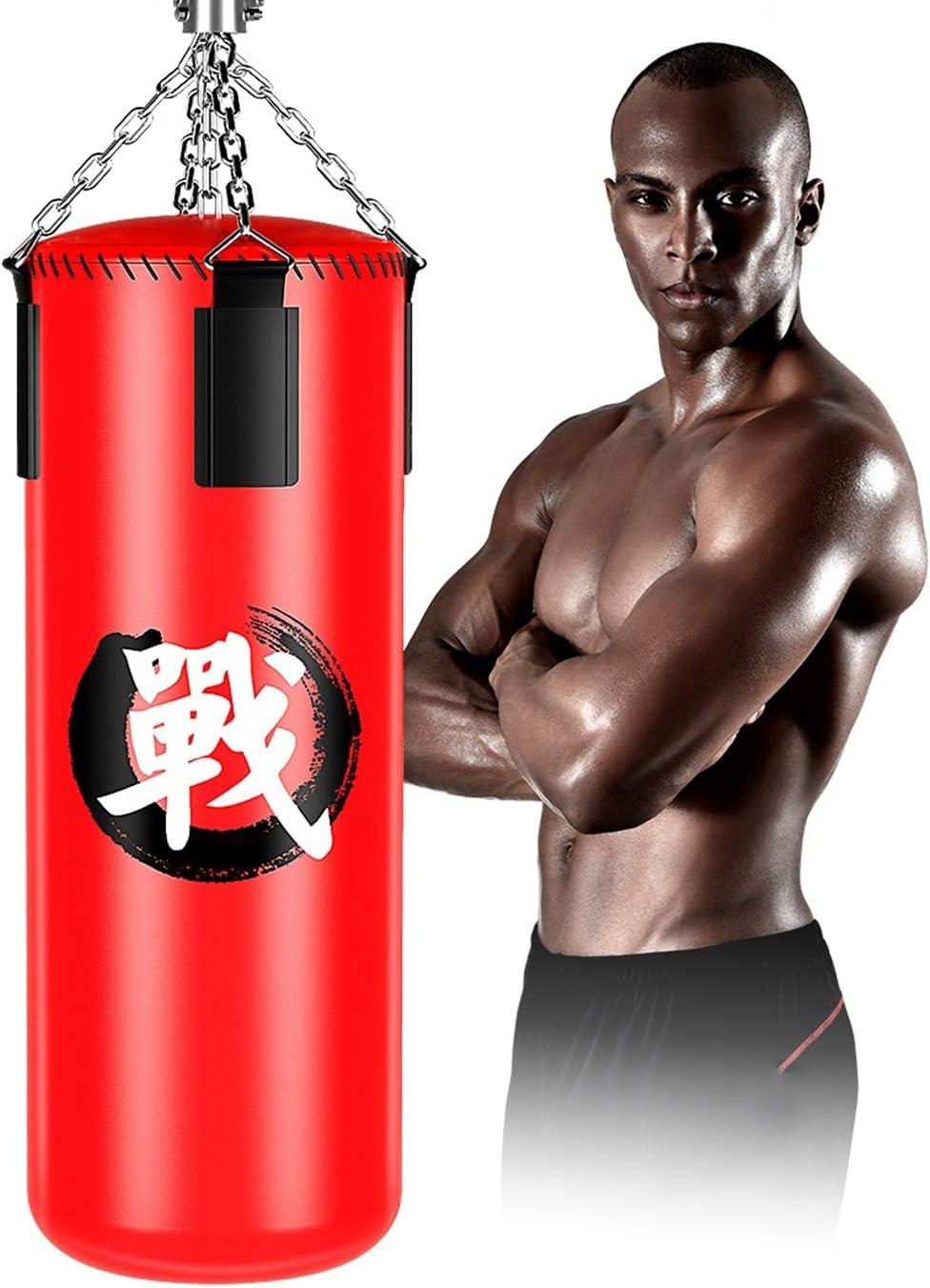 ボクシングヘビーパンチング、ティーンエイジャーと大人向けの固体サンドバッグ、チェーン付きトレーニングバッグ、三田ハンギングテコンドーMMAトレーニング39