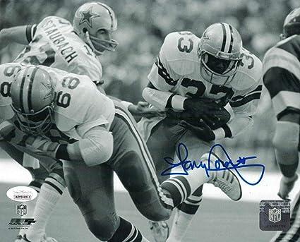 Tony Dorsett Autographed Signed Dallas Cowboys 8x10 Photo JSA at ... 647173a8d