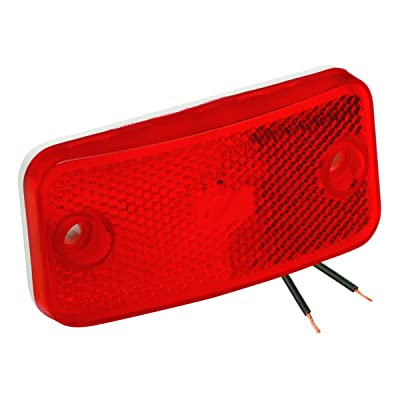 Bargman 34-17-808#178 Series Red Side Marker Light: Automotive