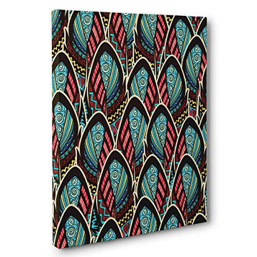 Abstract Feathers CANVAS Wall Art Home Décor by Paper Blast