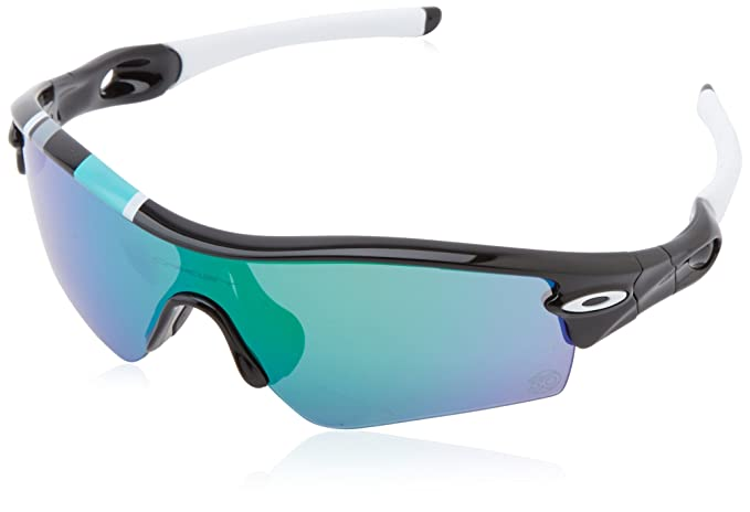 Oakley Radar - Gafas de ciclismo, color negro (polished white/fire iridium)