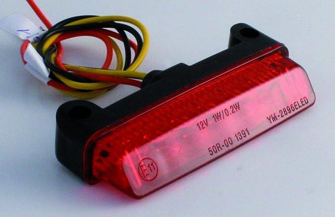 Shinyo Led Rücklicht Mini Rotes Glas Multipurpose Sommer Kunststoff Auto