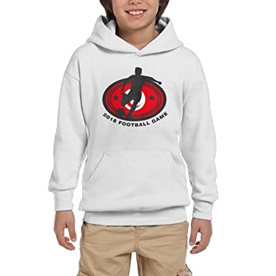 2018 Football Game Tunisia Youth Unisex Hoodies Print Pullover Sweatshirts