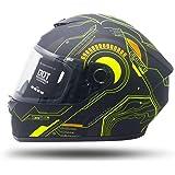 CASCO Motocicleta COMPLETO INTEGRAL Marca EDGE - EG500 - Cerrado Visor ANTIVAHO Certificado DOT Moto moto casco cascos de par