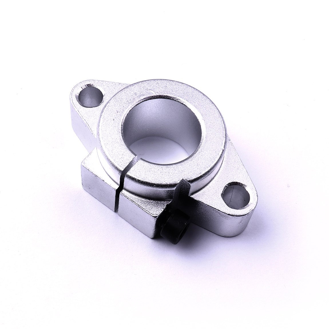 ATOPLEE 4pcs 12mm Montage /à bride Rail de guidage lin/éaire Support darbre//lin/éaire Rod support darbre SHF12