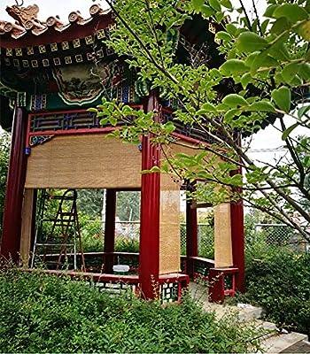 Persiana de bambú Exterior Enrollable Persiana Enrollable, Persiana Enrollable para Terraza Cubierta Porche Balcón Pergola Enrejado Carport, 85cm / 105cm / 125cm / 145cm De Ancho (Size : 145×260cm): Amazon.es: Hogar