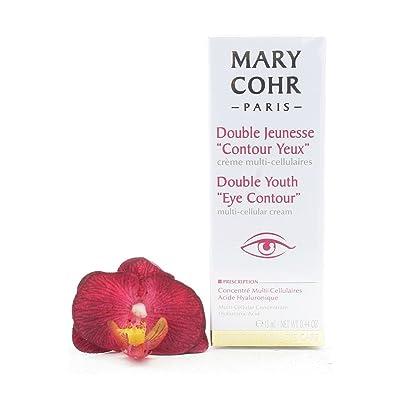 """'Mary cohr Double Jeunesse """"Contour yeux Ojo Color Crema con ácido hialurónico nuevo"""
