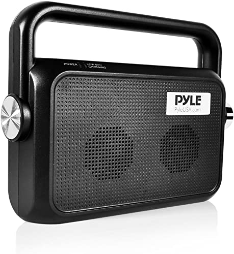 Pyle Wireless TV Speaker Portable TV Soundbox TV Audio Hearing Assistance