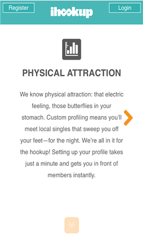 physical attraction hookup