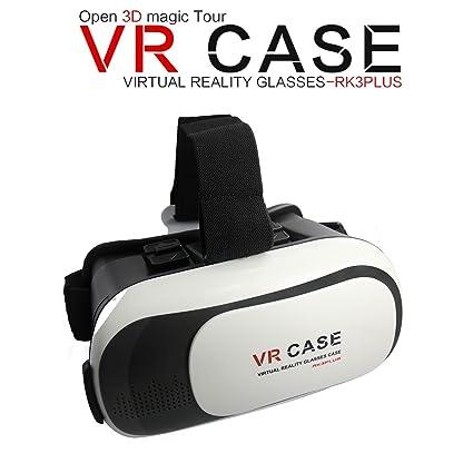 Universal VR CASE Versión Casco Realidad Virtual Películas Juegos TV 3D gafas para 3,5