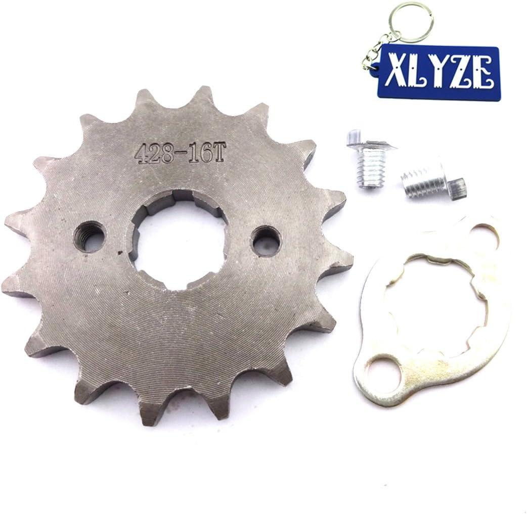 Xlyze 428 16 Z 20 Mm Pinion Front Motor Assembly For 50 Cc 70 Cc Cc 125 Cc Atv Dirt Pit Bike Lifan Yx Loncin Zongshen Auto