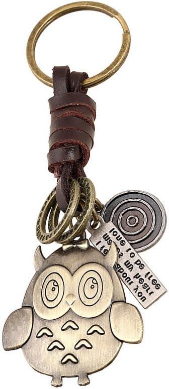 SkyEye Vintage Tejido colgante de aleación de llavero Cute Cartoon ...