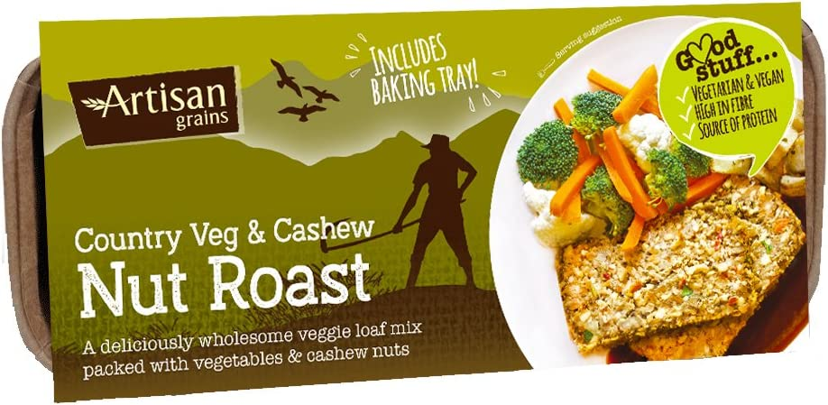 Artisan Grains Nut Roast Country Veg & Cashew 10 Pack