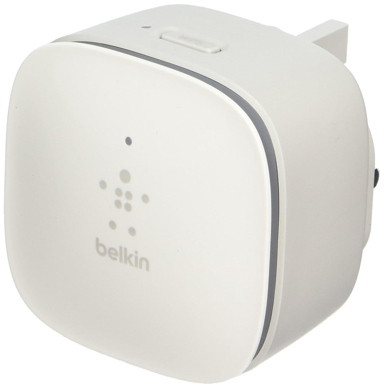 new belkin n300 wall mounted universal wi fi range extender signal booster ebay