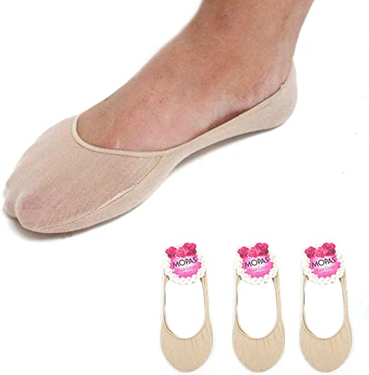 6 4 New 3 12 Pairs Women/'s Loafer Boat Liners Foot Cover Plain Low Cut 9-11