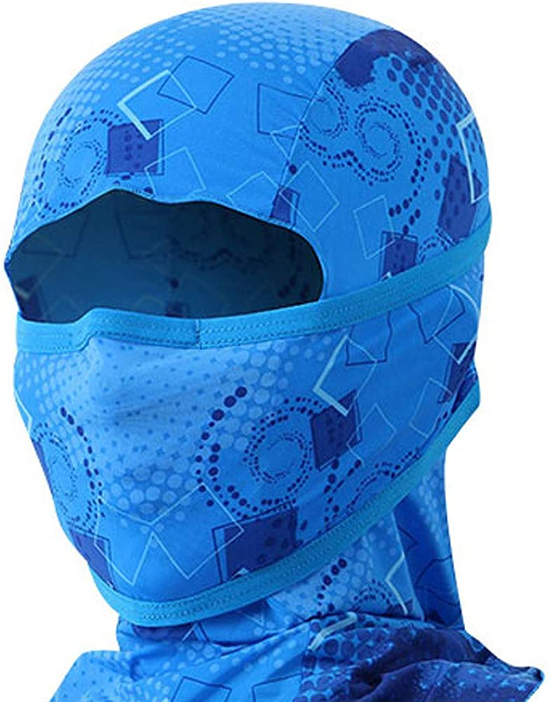 Outdoor Cooling Balaclava Full Face Mask Neck Gaiter Bandana Motorcycle, Hiking, Fishing