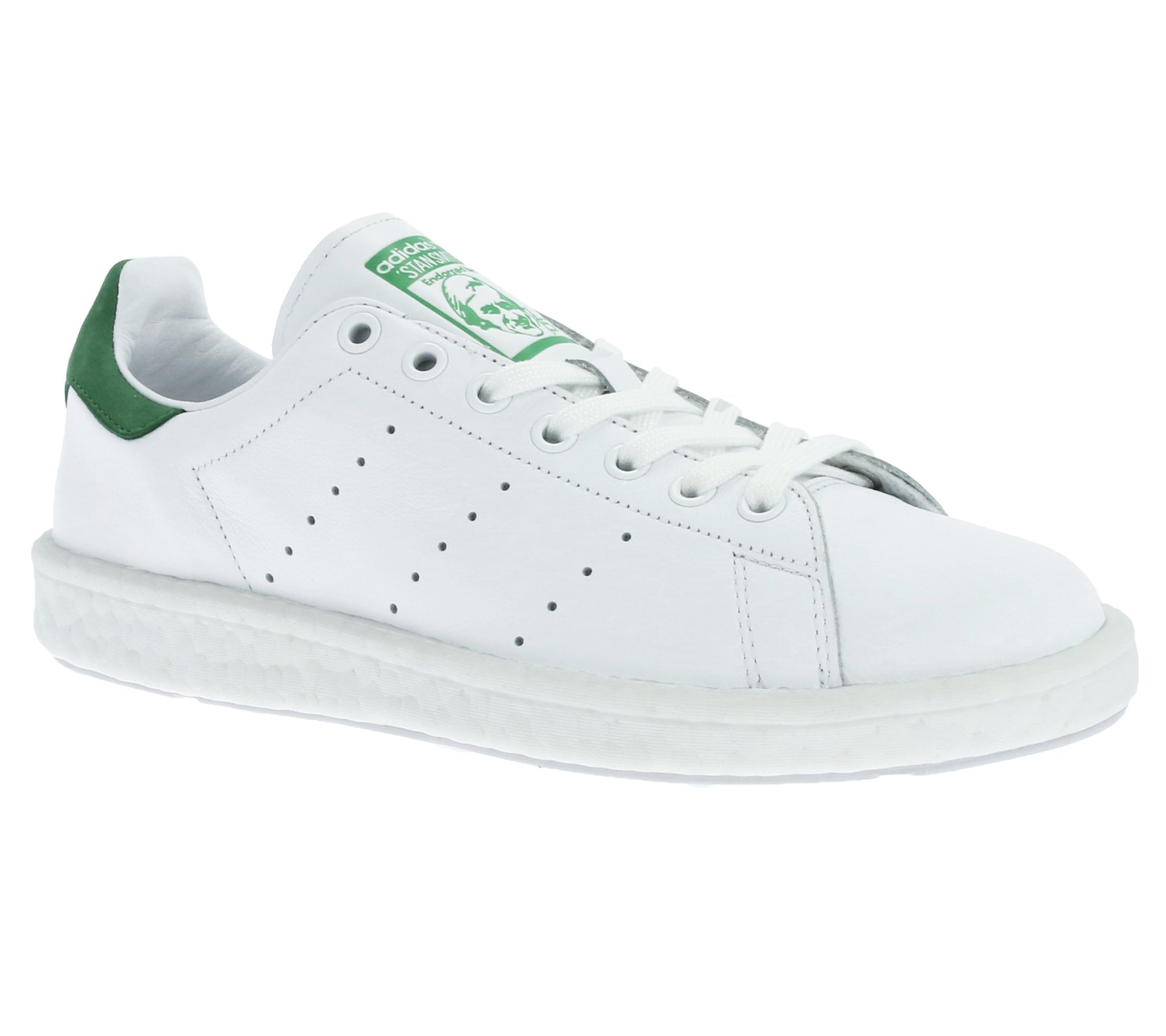 Adidas Schuhe Stan Smith Boost Herren footwear white-footwear white-green (BB0008) 41 1/3 weiss