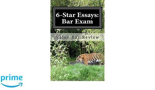 star essays bar exam these star bar essays and write  6 star essays bar exam these 6 star bar essays and write model essays yourself value bar review 9781495976278 com books
