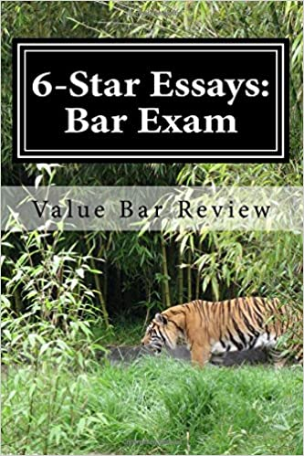 star essays bar exam these star bar essays and write  6 star essays bar exam these 6 star bar essays and write model essays yourself large print edition