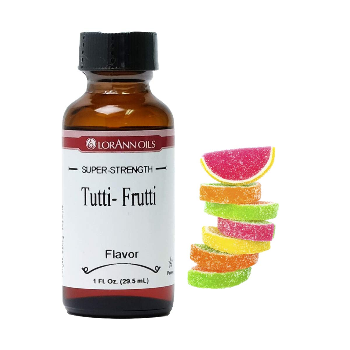 LorAnn Tutti Frutti Super Strength Flavor, 1 ounce bottle