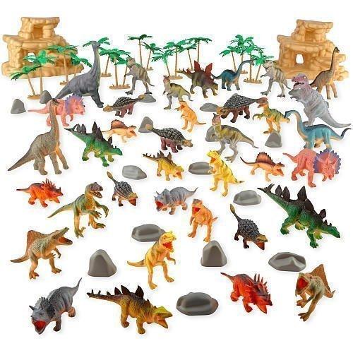 Animal Planet Dinosaur Mega Bag - 67 Pieces -