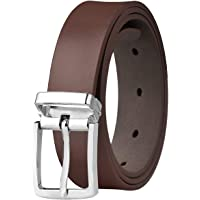 """Falari Kids Leather Belts for Boys All Occasion 1"""" Trim to Fit - One Piece Leather Cutting"""