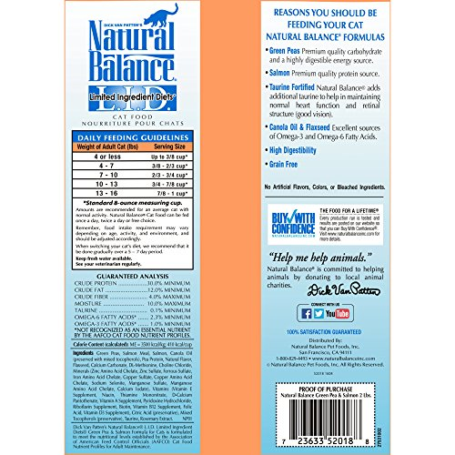Natural-Balance-LID-Limited-Ingredient-Diets-Dry-Cat-Food-Grain-Free-Green-Pea-Salmon-Formula-2-Pound