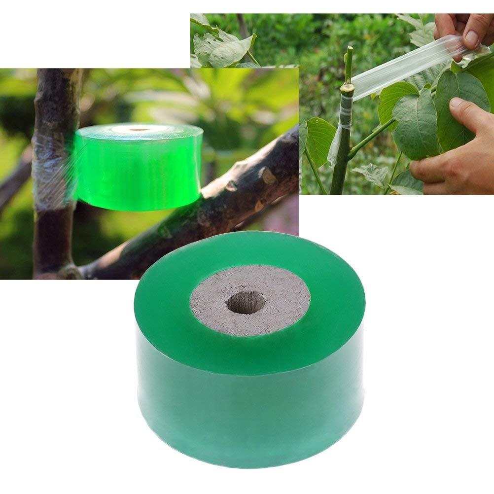 3cm*100m BangShou Gartenbau Pfropfen Klebeband dehnbar Selbstklebende Baum Pflanze Garten Klebeband mit 3 St/ück