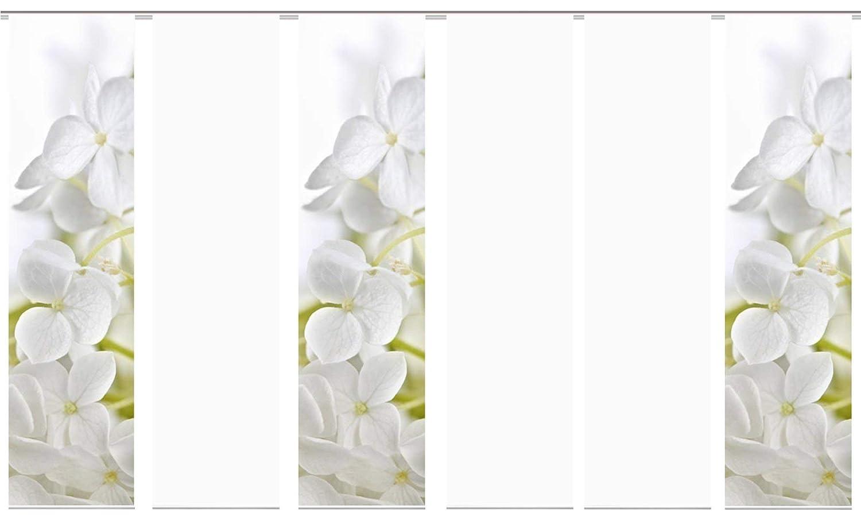Wohnfuehlidee 6er-Set Flächenvorhang, Deko Blickdicht, Padua, Höhe 245 cm, 3X Dessin   2X Uni Blickdicht   1x Uni transparent