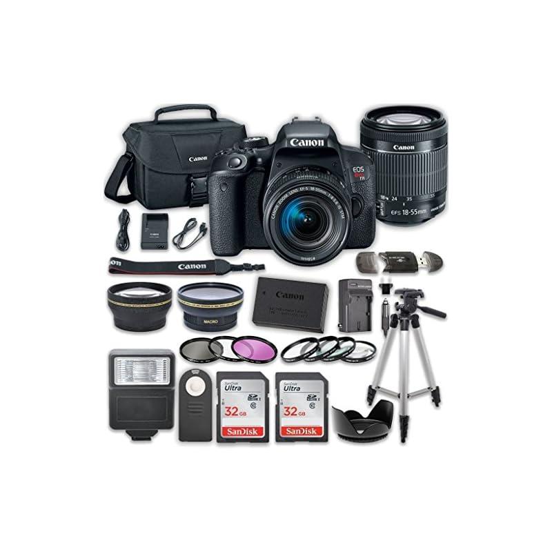 Canon EOS T7i DSLR Camera with 18-55mm I