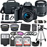 Canon EOS T7i DSLR Camera with 18-55mm IS STM Lens + 2 x 32GB Card + Accessory Kit