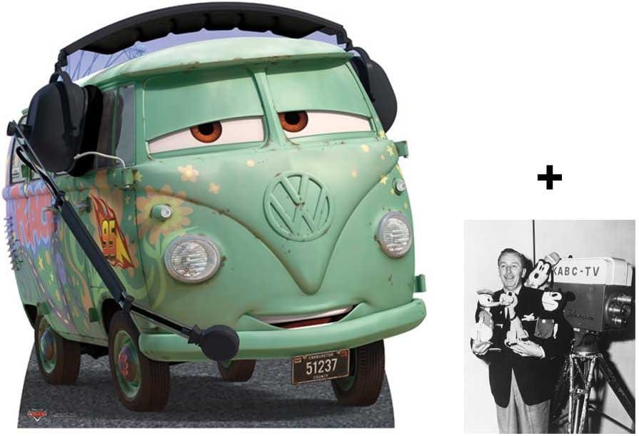 B008QPU6OG FAN PACK - Filmore (Cars) VW Campervan LIFESIZE CARDBOARD CUTOUT (STANDEE / STANDUP) - INCLUDES 8X10 (25X20CM) STAR PHOTO - FAN PACK #309 618TiJo--lL